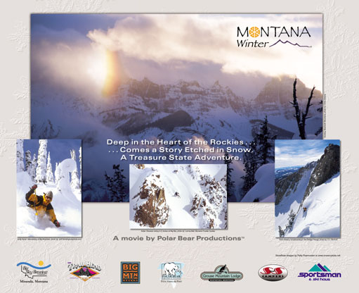 Mt Winter Poster