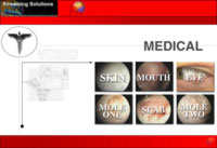 Video Content Menu for Medical Samples in 64k lowband internet